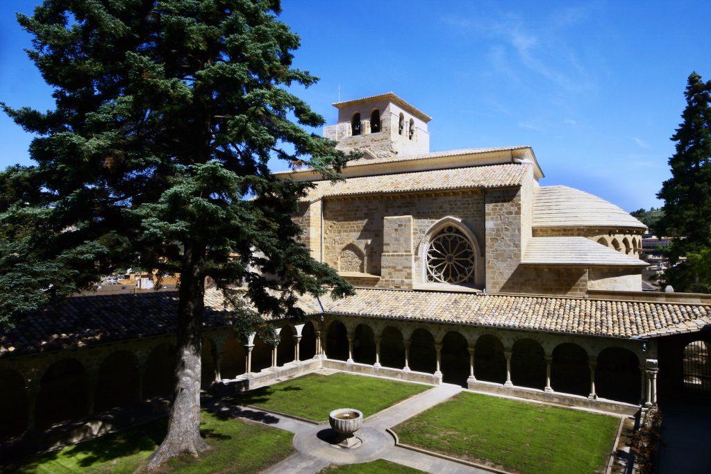 Iglesia de San Pedro de la Rúa, en Estella-Lizarra. Foto: Turismo de Navarra