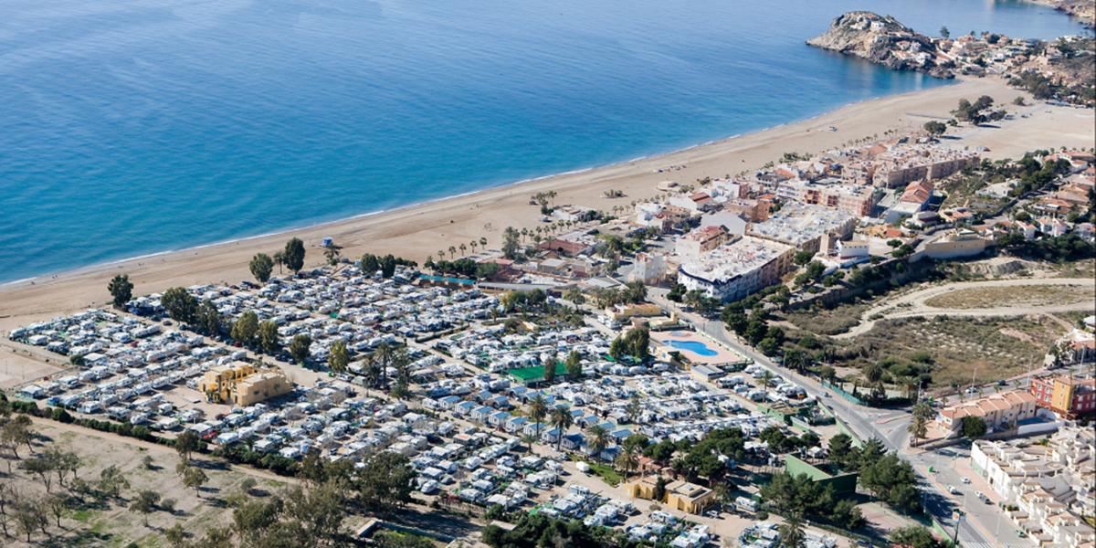 Detalle del Camping Playa de Mazarrón