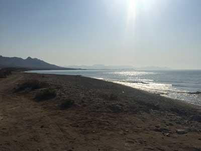 Playa Cobaticas, muy cerca de Mazarrón