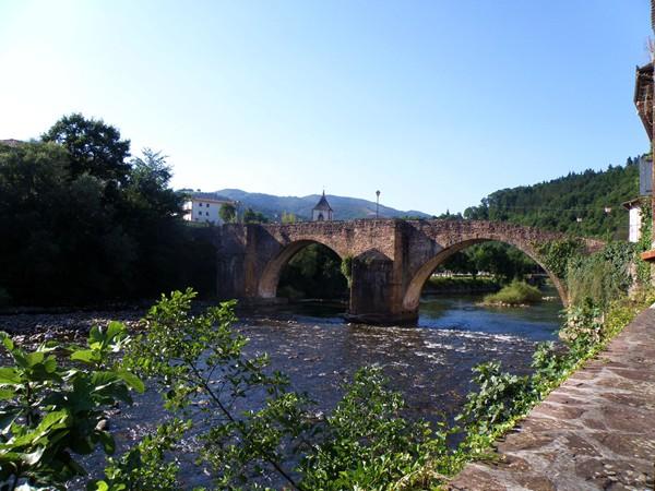 Puente medieval de Sunbilla. Foto: Ayuntamiento de Sunbilla