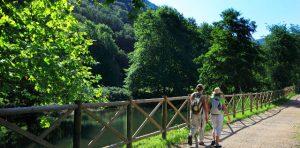 Vía Verde del Bidasoa. Foto: Turismo de Euskadi