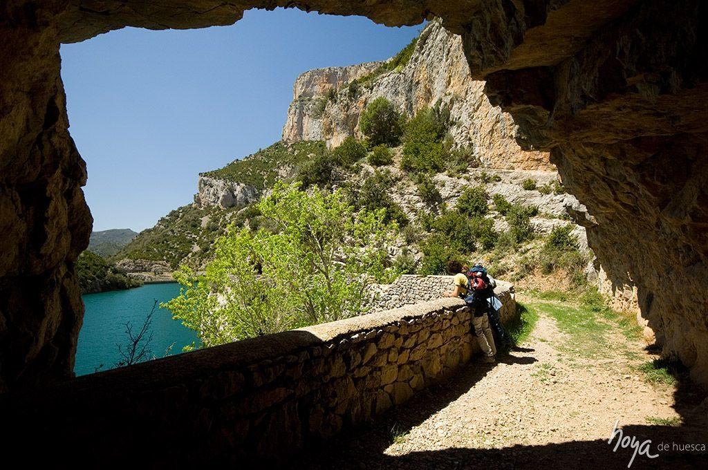 Acantilados de Cienfuens, Sierra de Guara. Foto: Hoya de Huesca