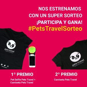 Imagen del sorteo de Instagram #PetsTravelSorteo