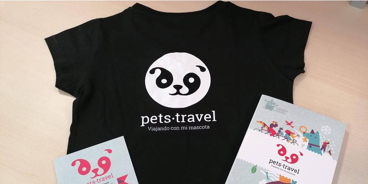 Camiseta exclusiva Pets Travel