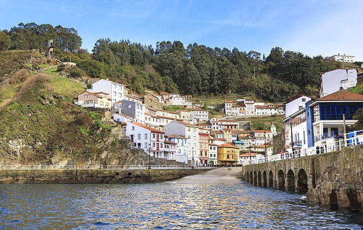 Cudillero, vista desde el puerto. Foto: Turismo de Asturias