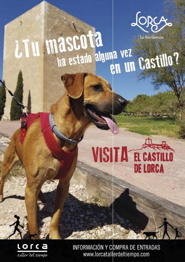 Visita el Castillo de Lorca con tu mascota