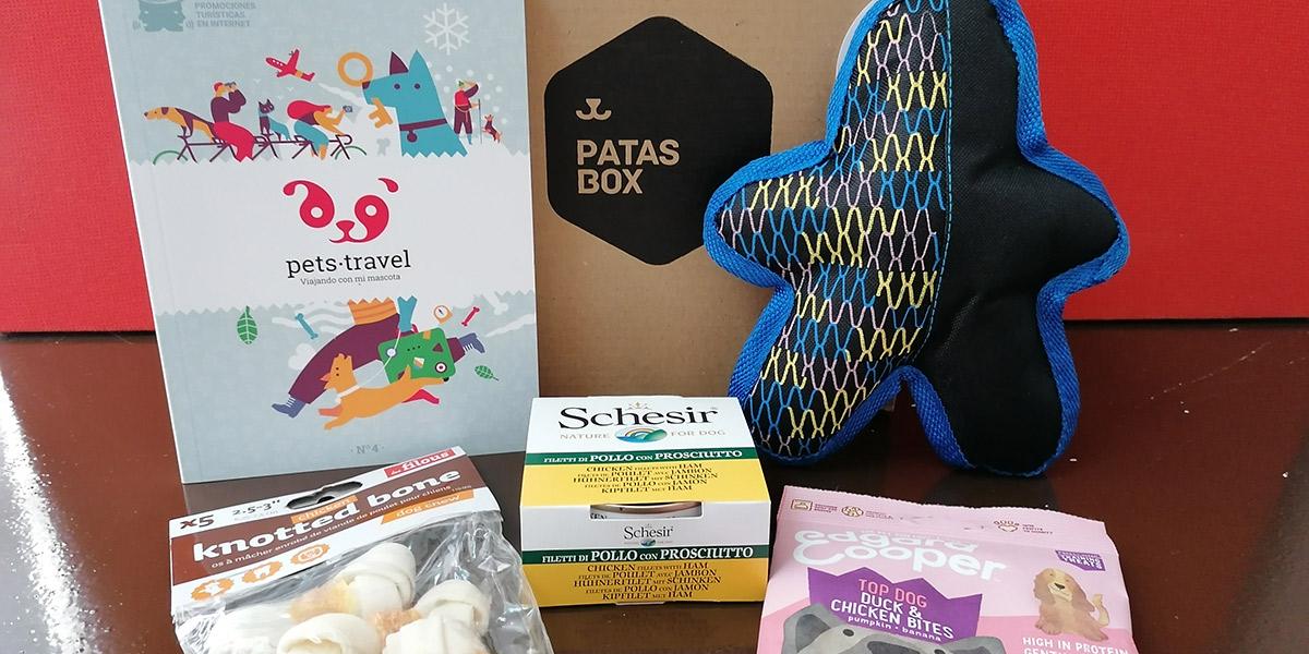 Contenido de la caja de Patasbox que puedes ganar en nuestro Facebook