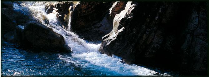 Ruta de senderismo del Río Borosa. Foto: Sierras de Cazorla, Segura y Las Villas