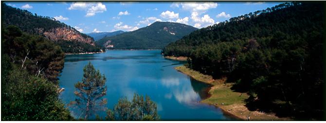 Embalse El Tranco. Foto: Sierras de Cazorla, Segura y Las Villas
