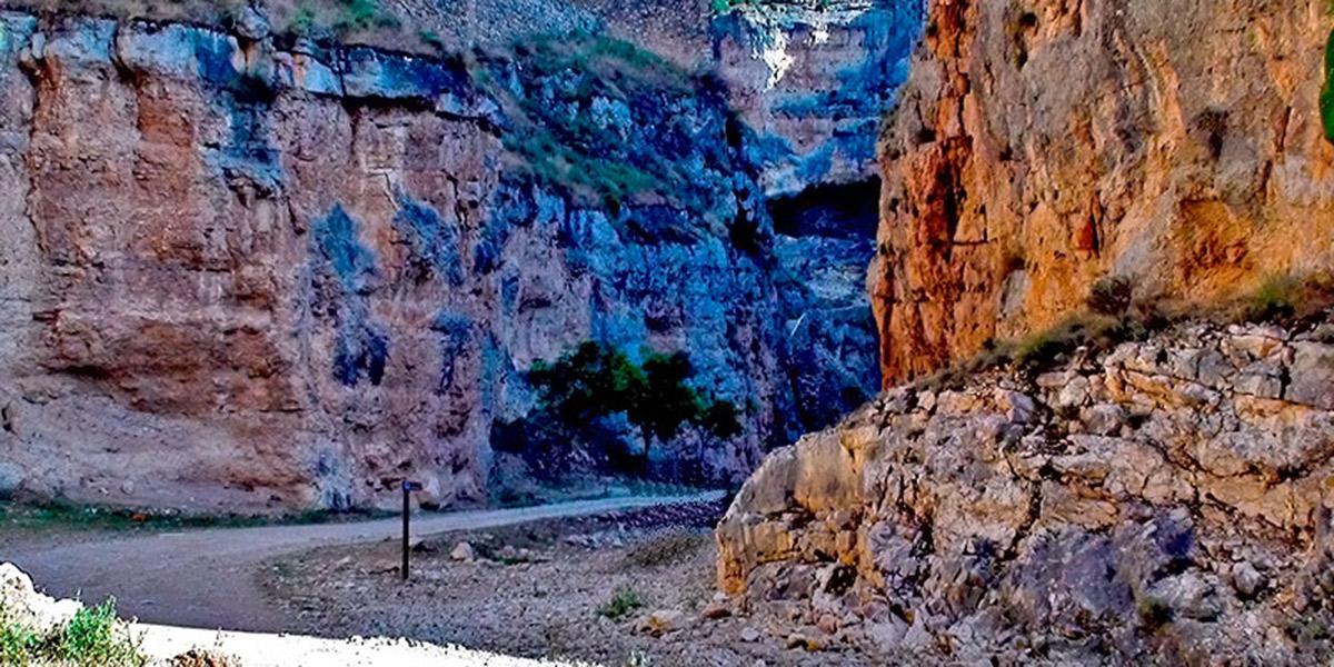 Barranco de la Hoz Seca. Foto: Comarca de Calatayud