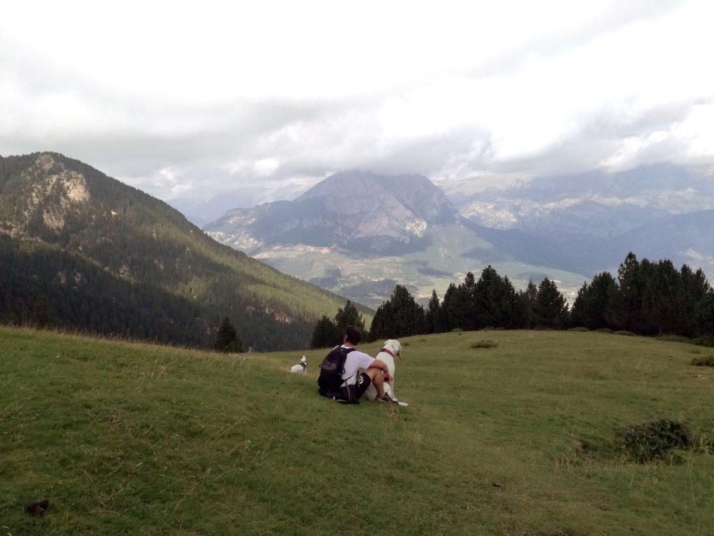 Desde La Gallina Pelada hay unas impresionantes vistas de El Pedraforca