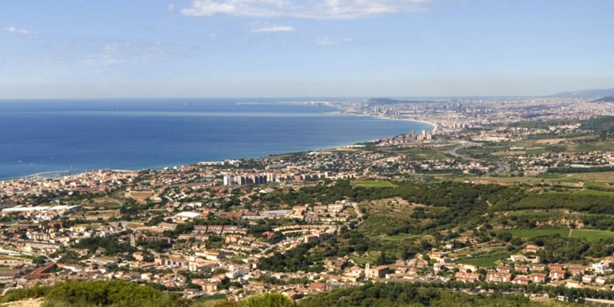 Vista aérea de Calella. Foto: Ajuntament de Calella