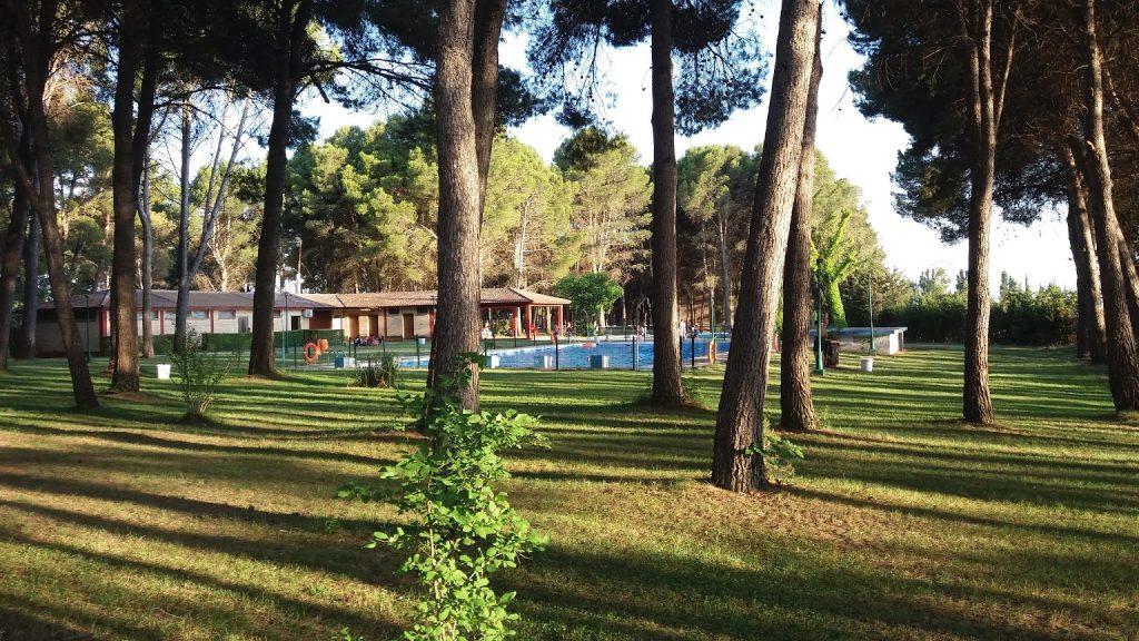 Camping El Temple, en El Temple (Huesca)