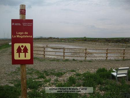 Lago de la Magdalena. Foto: Hoya de Huesca