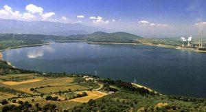 Pantano de Bárcena, en El Bierzo