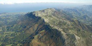 Asturias con perro: paisaje de la Sierra del Sueve