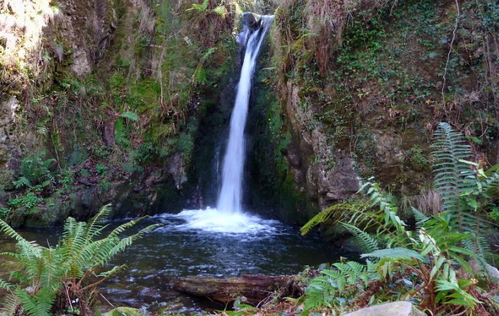 Cascada del Chorrón. Foto: Turismo de Asturias