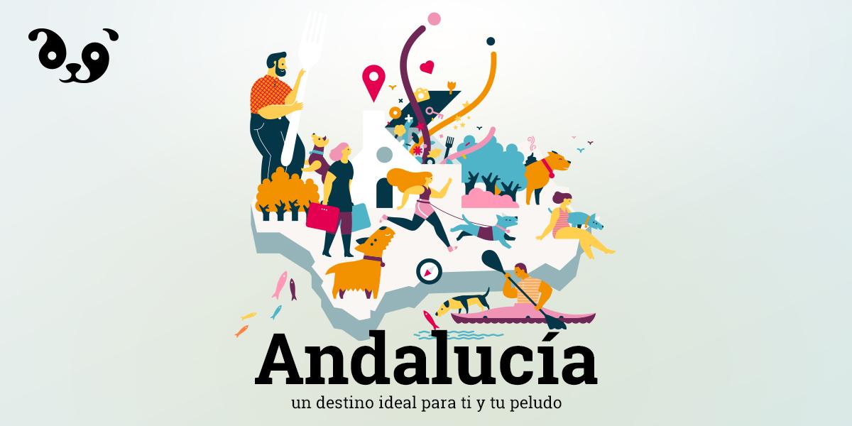 Andalucía, una comunidad para disfrutar con perro