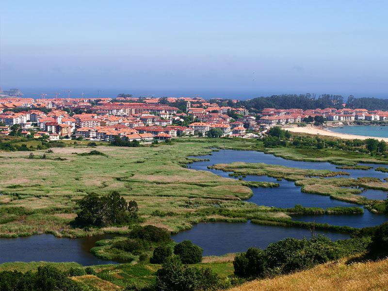 Parque Natural de las Marismas de Santoña, Victoria y Joyel. Foto: Turismo de Cantabria