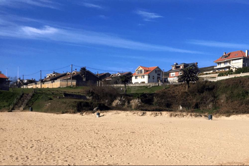 Posada La Morena, vista desde la playa
