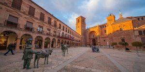 Villanueva de los Infantes, en la Ruta de Don Quijote. Foto: Ruta de Don Quijote