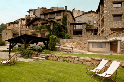 Vista de los apartamentos de Ponsa D'Arfa
