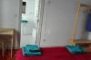 Baño de una de las habitaciones del Arrigorri Ostatu Jatetxea