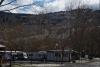 Camping Los Cameros con nieve