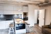 Cocina, salón y comedor