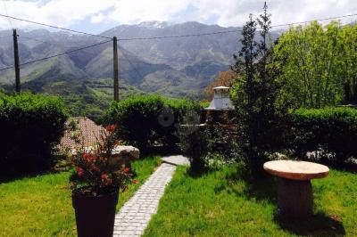 Casa Llampedro jardín