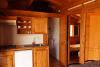 Interior de los bungalows