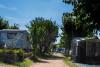 Calles para parcelas de autocaravanas