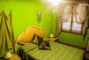 Habitación verde
