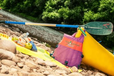 Descensos en canoa por el Sella