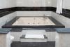 Bañera hidromasaje en Suite al Alba